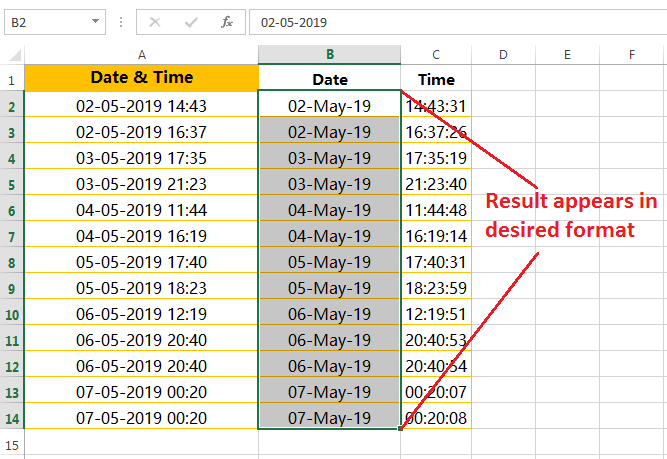 Formatting of dates in a valid format-6