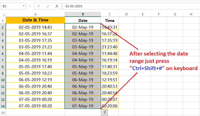 Formatting of dates in a valid format-2