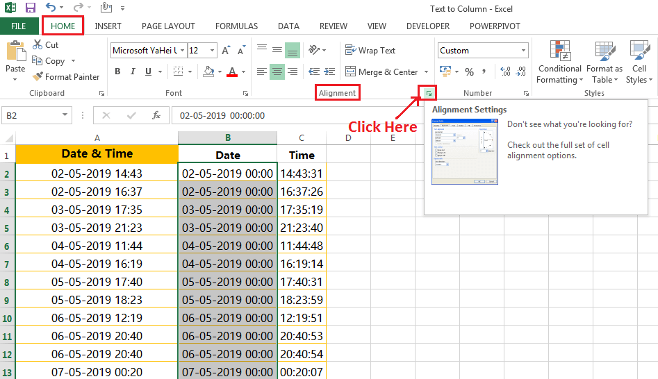 Formatting of dates in a valid format-4