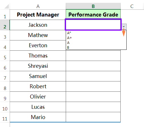 Pasting 'Validation' rules to the entire Ranges_step3