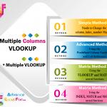 04 Best Ways_How to Use Multiple Columns VLOOKUP or Multiple VLOOKUP in Excel