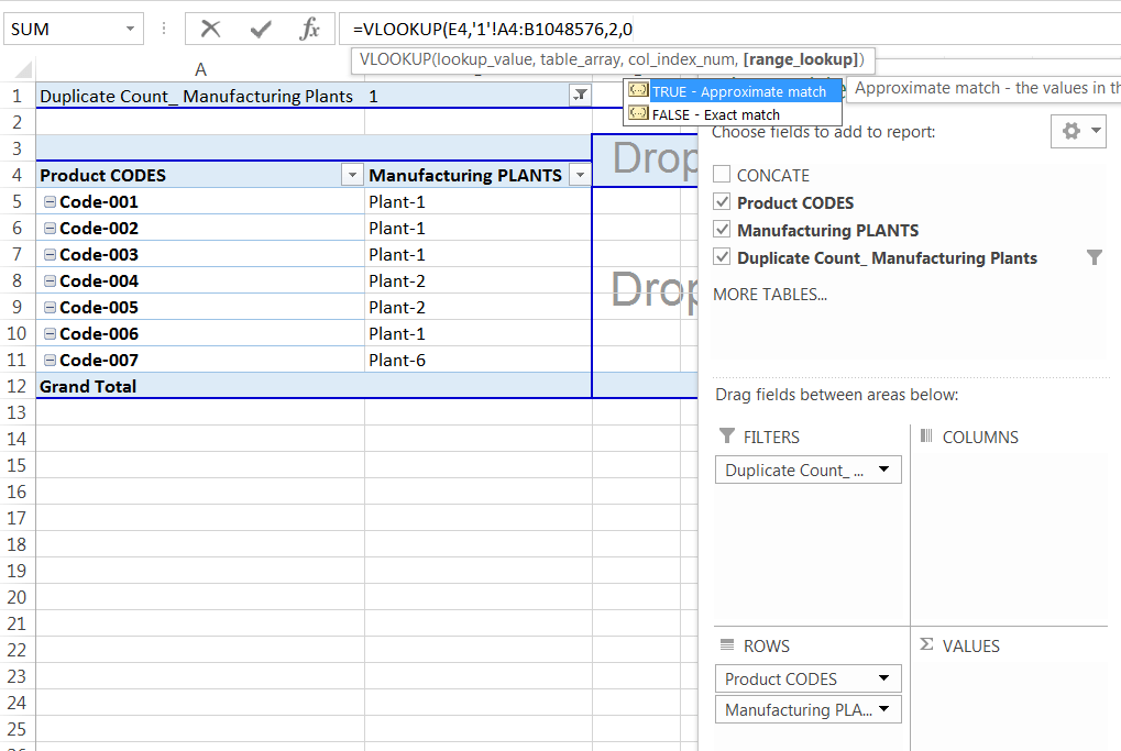 Transpose Data in Excel_A combined Process for Transpose Columns to Rows in Excel_Assign the VLOOKUP formula with a Single Worksheet_5