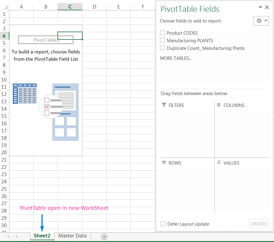 Transpose Data in Excel_A combined Process for Transpose Columns to Rows in Excel_Creating a Pivot Table of Dataset_6