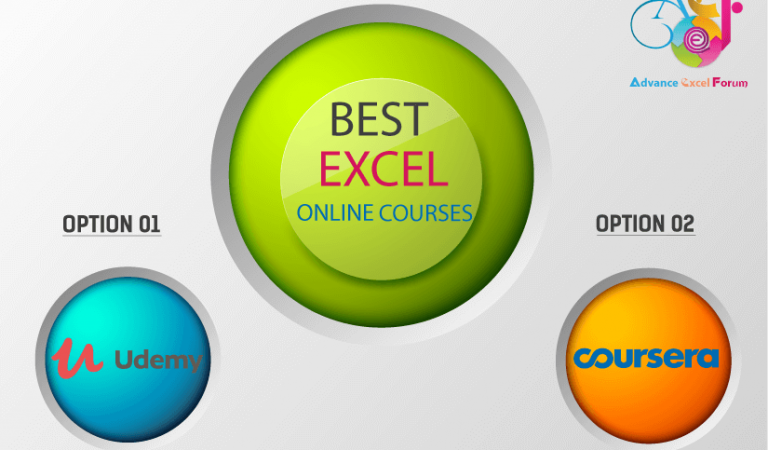 30+ BEST ADVANCE EXCEL COURSES | By Coursera, Udemy |