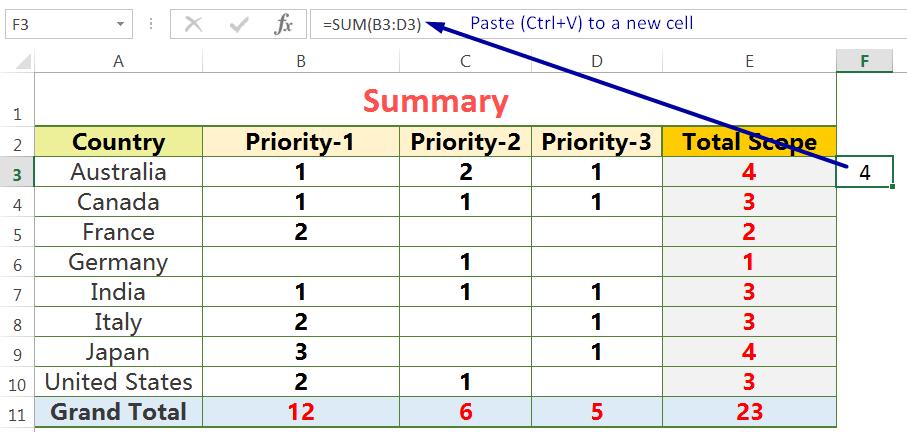 Exact Copy the Formula from the Formula Bar_2