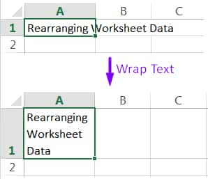 04 Alternative Methods How to Wrap Text in Excel_02