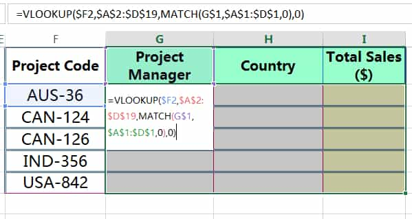HOW TO COPY FORMULA IN EXCEL ➢ USING CTRL+ENTER_2