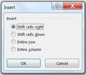 HOW TO INSERT CELLS IN EXCEL