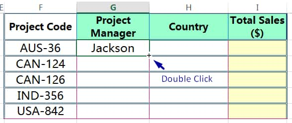 METHOD 3 HOW TO COPY FORMULA IN EXCEL ➢ USING AUTOFILL IN EXCEL_3
