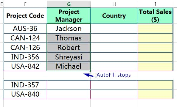 METHOD 3 HOW TO COPY FORMULA IN EXCEL ➢ USING AUTOFILL IN EXCEL_5